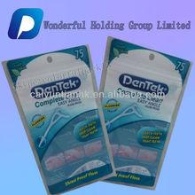 Washing powder packaging bag with transparent window/hanger hole plastic packaging bag for washing powder