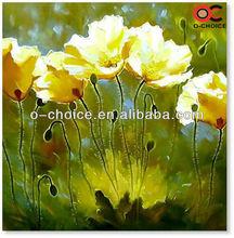 2013 hot selling100% Handmade Buddha vladimir modern pictures of flower oil painting