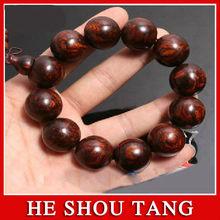 hainan huanghauli buddha perline di legno braccialetto smorfia fantasma occhi intorbidamento