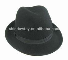Fashion wool felt fedora hat, Wool felt hat, Wool hat