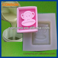 líquido de silicona moldes jabón de materia prima