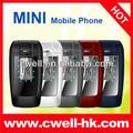 nouveau design m2r m9 flip double sim mini téléphone portable