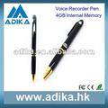 Fácil de operar de la batería de litio de grabadora de voz adk-dvr1002