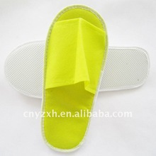 Non-woven eva sole disposable wholesale hotel slippers