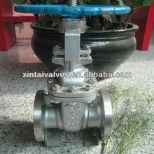 manufacturer china gate valve api 602/ ansi ss flanged
