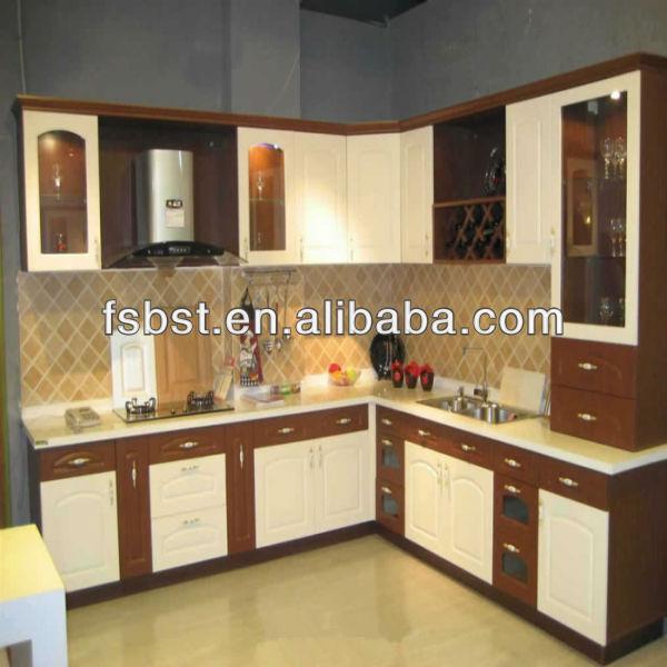 Ak451 Color Combination Modular Kitchen Cabinet Design