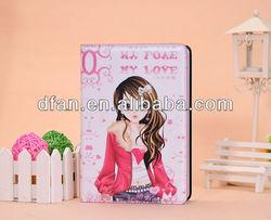 2013 hot selling beautiful girl for ipad mini case