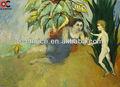 evergood sıcak satış philip çıplak aşığı Anne ve çocuk yağlıboya