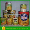 chinês kernel milho doce enlatado fornecedor de conservas vegetais enlatados