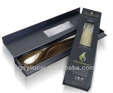 fashion paper packaging hair extension box