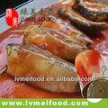 sardinas en conserva de pescado en salsa de tomate