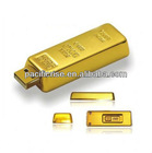 Promotional Gold Bar USB Flash Drive 2GB 4GB 8GB 16GB