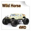 Fs11802 1/5 escala 4wd martelo gás rc car( cavalo selvagem)