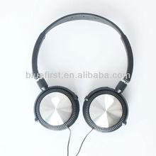 2012 best sell! portable folding headphone