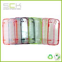 Ultra-thin Clear/Transparent Bumper Case Skin PC Frame For samsung galaxy s4