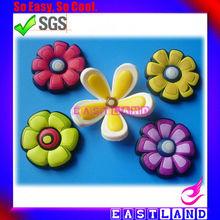Promotional Soft PVC Flower Fridge Magnet