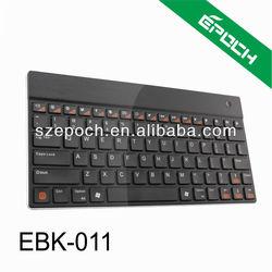 82 Keys White Slim Bluetooth Wireless Keyboard For Laptop Tablet PC