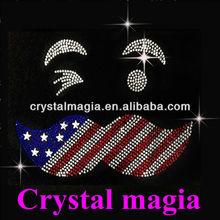 2013 Cheap hotfix abaya crystal designs