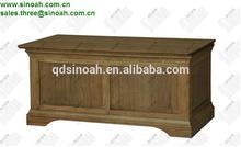 Solid Oak Wooden storage Box/bedroom furniture VB90
