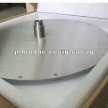 "High quality 16"" 400*400mm round and ceiling with 8 outer led light top shower head"