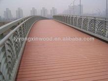 HOT!WPC anti slip decking/wpc walkway decking