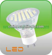 MR16 glass reflector led GU10