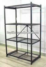 DR72-S folding metal display shelf