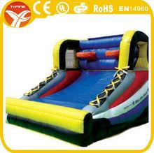 inflatable shooting basketball