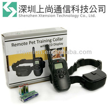 2013 Hot 100LV Waterproof LCD Shock Vibrate Remote Dog Training Collar For ONE Dog