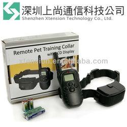 Anti-Bark Electric Training 100 Level Shock Collar For Pet Dog 300m Remote Control