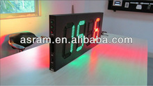 LED electronic digital number display board, double sided led Soccer Substitution Board