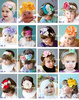 Cute Baby Infant Kids Girls Hair Decoration Multi Style Flowers Elastic cotton Headband
