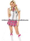 Playboy sexy school girl teacher costume