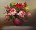 La compañía de comercio de flores de arte pintura al óleo sobre lienzo gy-61