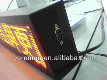 digital timer dot matrix one line/2 lines multi-line led moving sign/led open sign /remote control led moving sign
