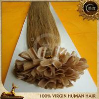 $0.69/pc 20inch 1.0g/pc u-tip pre-bonded/prebonded u tip hair extensions