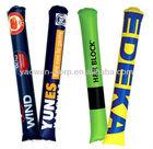 Inflatable clapper sticks