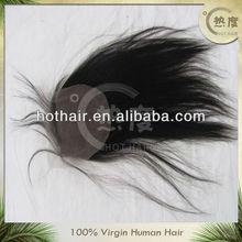 Wholesale 100% unprocessed virgin brazilian hair lace closure,top closure