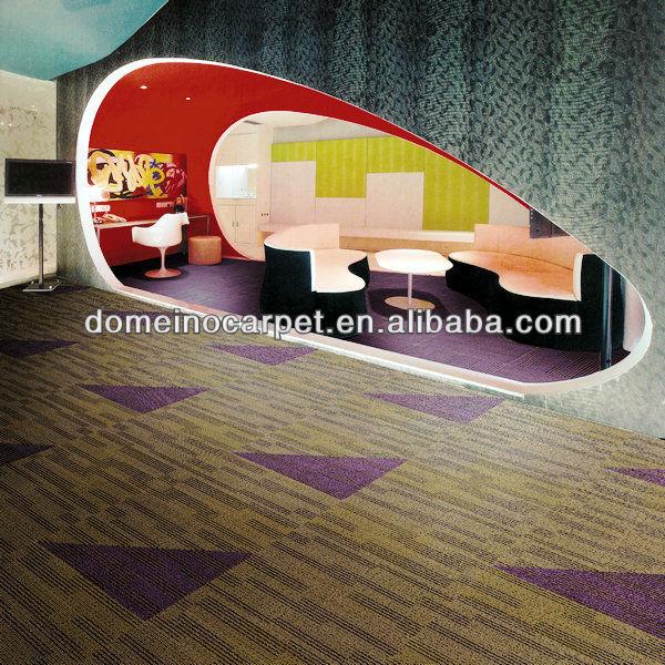 Environmental Friendly 100nylon Carpet Tiles domeino