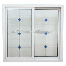 cheap house windows Conch brand UPVC sliding window for sale