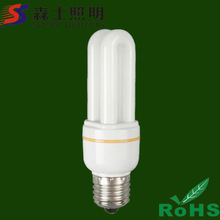 Low Watt 2U Energy Saving Lamp 9mm Diameter