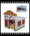 Crianças de baixo preço casa de boneca, mini pet shop para jogar nointerior do brinquedo