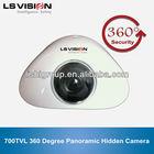 LS VISION China supply 700TVL ccd Panoramic mini camera 360 degree