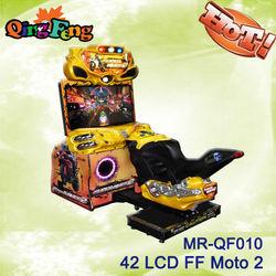 2013 arcade car racing machine MR-QF010 FF motor 42 LCD