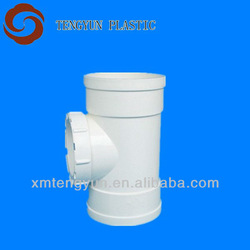 plastic pipe fitting pvc inspection port