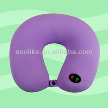 2014 massage pillow filled with 100% polystyrene micro beads