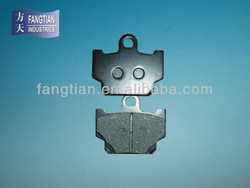 Top Quality ATV Motorcycle Brake Pad For Indian Market