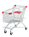 rodas de borracha para o supermercado carrinho de compras
