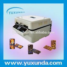 Yuxunda 2014 self-developed high quality mini 3d sublimation, 3d sublimation vacuum machine for phone case