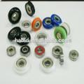 de plástico rodillo de la ventana pequeña bola rodamientos de ruedas